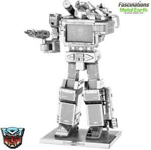 New! Metal Earth Transformers Soundwave 3D DIY Model Building Kit Puzzle Toy