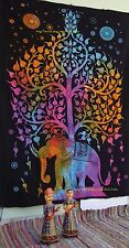 Indian Tapestry Elephant MandalaThrow Urban Tapestry Twin Hippie Gypsy Bedspread
