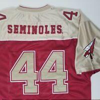 Vtg Colosseum Athletics FSU Florida State Seminoles Mens Size L Football Jersey