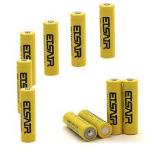 10pcs 2800mAh 14500 Battery Rechargeable Li-ion Lithium 3.7V Batteries USA Stock