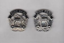 1st SOCOM Special Operations Command Airborne Obsolete crest DUI badge G-23 set
