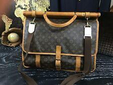 LOUIS VUITTON France XL Architect Mens Vintage Messenger Travel Carryall Bag