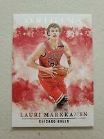 Lauri Markkanen 2020-21 Panini Origins Base Card #39 Chicago Bulls