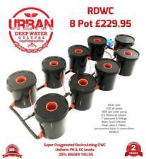 20L 8 Pot System For Grow Tent 2 x 2 600W x 2 Light Auto Pot IWS Clonex Lamp