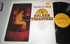 "Charlie Rich-""Golden Treasures"" 1974 SUN Label ROCKABILLY LP!"