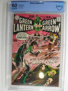 Green Lantern #77, War Zone, Neal Adams, CBCS, VF/NM, 9.0,  Exceptional White!