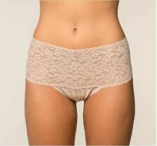 Hanky Panky Retro Lace High-Waisted Thong Panty Chai One Size