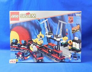 LEGO 4565 System Freight and Crane Railway Train New & Complete in Original Box