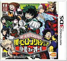 Nintendo 3DS My Hero Academia Battle for All Japan F/S