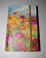 """LEGACY """"YOUR FAITHFULNESS REACHES TO THE SKIES"""" PSALMS WILDFLOWER COUPON KEEPER"""