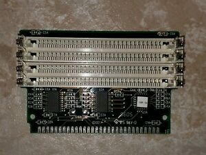 SIMM Memory Extender / RAM Expansion Riser 4x30-pin to 1x30-pin