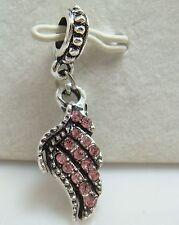 European Silver Charm Bead Fit sterling 925 Necklace Bracelet Chain US pal23s