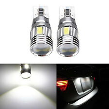 10X T10 CAR BULBS LED ERROR FREE CANBUS 6 SMD XENON WHITE W5W SIDE LIGHT 6000K