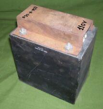 Trasformatore di alimentazione 2Kv blindato In.120 Volt  Out. 600 + 600 Volt