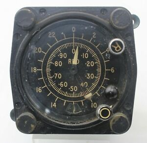 Decometer Indicator Mk VIII Type 274Z Red 10AF/9558044 WR540 Ex-RAF Aircraft