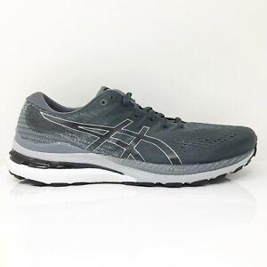 Asics Mens Gel Kayano 28 1011B189 Black Gray Running Shoes Sneakers Size 9.5
