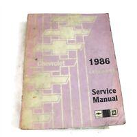 1986 CHEVROLET CELEBRITY ORIGINAL FACTORY DEALER SERVICE SHOP REPAIR MANUAL