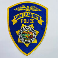 San Leandro Police California CA Patch (A5)