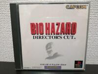 USED PS1 Bio Hazard Director's Cut Playstation JAPAN Import