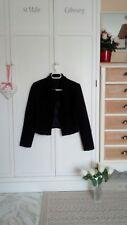 Blazer type tweed noir doublé CarlaB neuf T.s