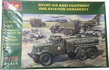 ICM Soviet Air Base Equipment And Aviation Armaments Ref 72102 Escala 1:72