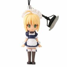 Fate/Stay Night Saber Maid Fortune Capsule Q Fraulein Cell Phone Charm