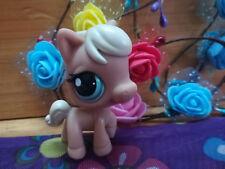 Littlest Pet Shop LPS533 Figure Light Brown Horse Puppy with Blue Eyes
