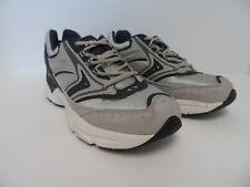 APEX Men's X532 Athletic Running Shoe Silver Blue Size 10M