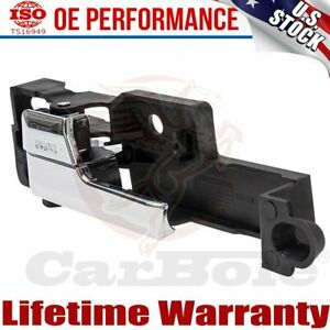 Front Inner Inside Door Handle Chrome Left Driver Side For Ford Fusion 06-12 US