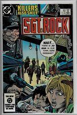 DC Comics SGT. ROCK #391 VFN/NM 9.0