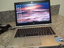 HP EliteBook 8460p i5 CPU / 8GB RAM / 500GB SSD / WebCam / Windows 10 + Office10