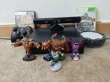 Microsoft Xbox 360 S Slim Kinect Bundle 250GB Matte Black Console with Games