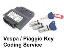 Vespa Piaggio Et4, LIBERTY, LX 125 CDI Llave Chip Codificación servicio.