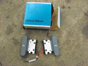 NOS 86 87 88 Pontiac Fiero Steering Wheel Horn Buttons GT 17989706 Grand Am