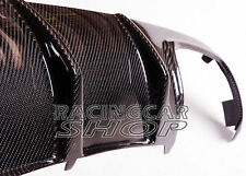 Carbon Fiber Diffuser Rear Lip For Mercedes Benz W204 C63 AMG Bumper 08-11 m030