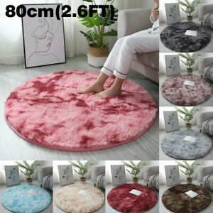 Decoration Carpet Fluffy Living Room Mat Rugs Shaggy Solid Pattern Super