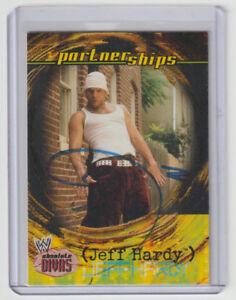 JEFF HARDY Signed 2002 Fleer WWE Absolute Divas #64 Autograph ON CARD AUTO TNA