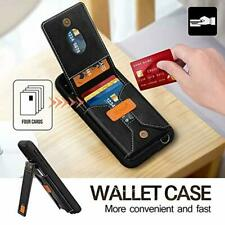"Skycase iPhone 11 6.1"" Wallet Case Kickstand Elegant Protective Back Cover Black"