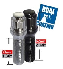 Wheel Lug Bolt-Spline Lug Bolt Acorn Seat 6 Sided 14mm 1.50 x 33mm.