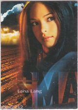 SMALLVILLE SEASON 1 1OF3 CD SOUNDTRACK INSERT PROMO LANA LANG RARE *VHTF*