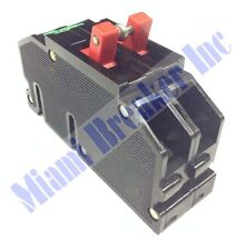 QCP20 Zinsco GTE Sylvania Type Q Feed-Thru Breaker 2 Pole 20 Amp 240 Volt