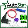 50 - Add A Circuit Fuse Tap Piggy Back MINI Blade Fuse Holder ATM APM 12v 24v