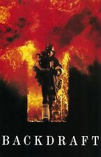 Backdraft movie poster print - Kurt Russell - Fire Fighter - 11 x 17 inches