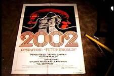FUTUREWORLD STYLE C ORIG MOVIE POSTER 1976 SCI FI  EXPLOITATION PETER FONDA