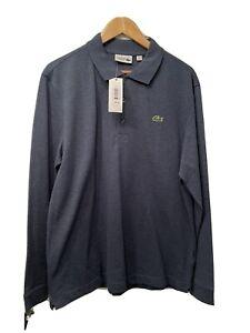 Mens Lacoste Long Sleeve Polo Shirt