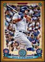 Kyle Schwarber 2019 Topps Gypsy Queen 5x7 Gold #4 /10 Cubs