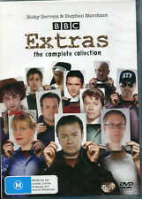 Extras The Complete Collection 5 DVD Set VGC R4 Ricky Gervals Stephen Merchant