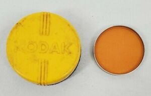 VINTAGE KODAK Series VI Wratten Orange #85B Filter with Original Case USA Made