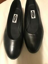 Rockport Women's Comfort Black Leather Shoes Size 71/2Wide Style Number WE 4878