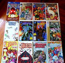 12 Collectable Comics including Zero Hour 1-4 Primortals Mr. Hero + More 0871028